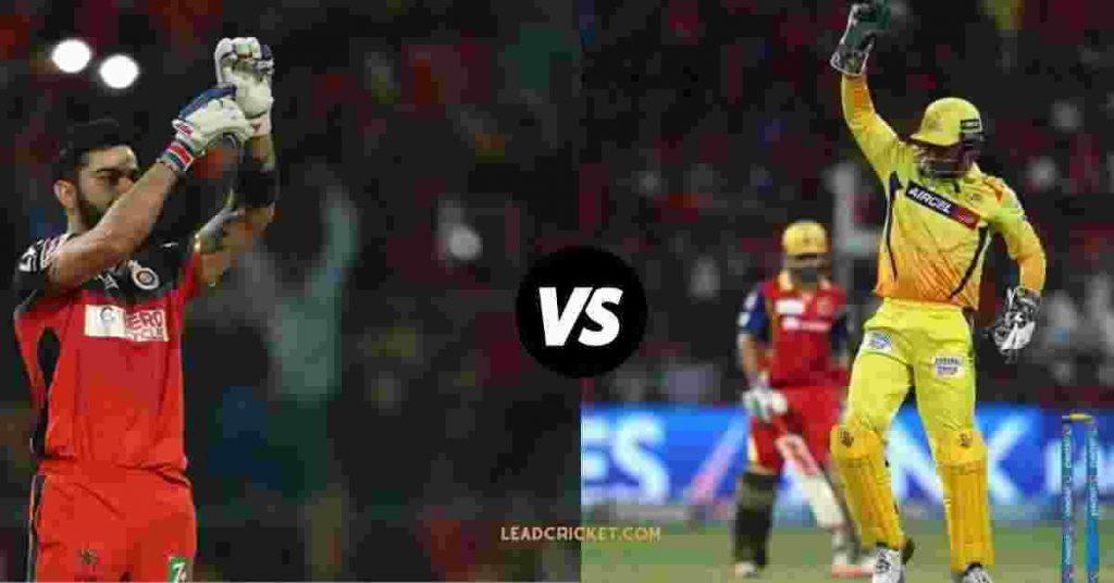 Biggest Rivalries In IPL History, rcb vs csk