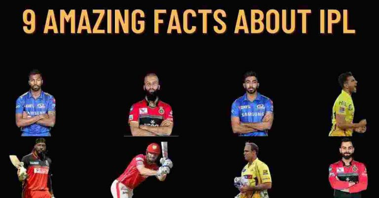 9 Amazing Facts About IPL