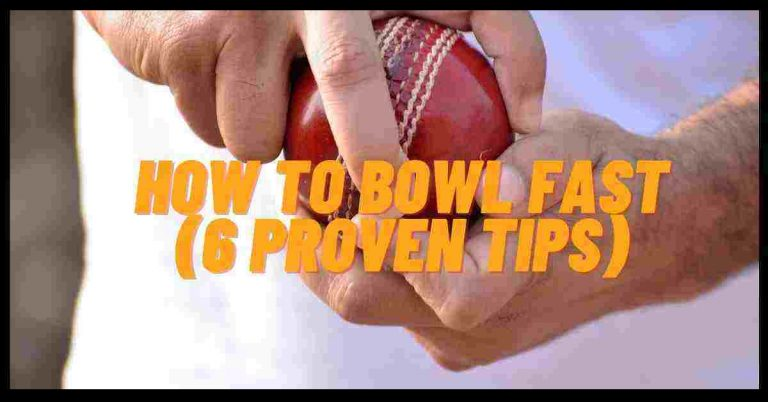 How To Bowl Fast In Cricket